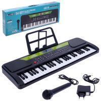 Синтезаторы, пианино, микрофоны