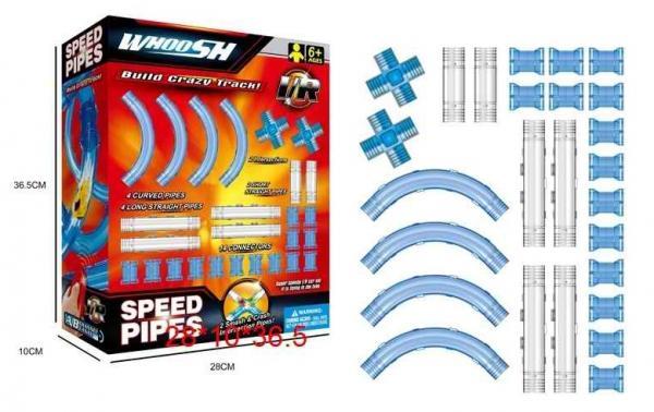 """Игровой набор """"Автотрек"""" с LED-подсветкой на ИК управлении , арт. DC1803"""