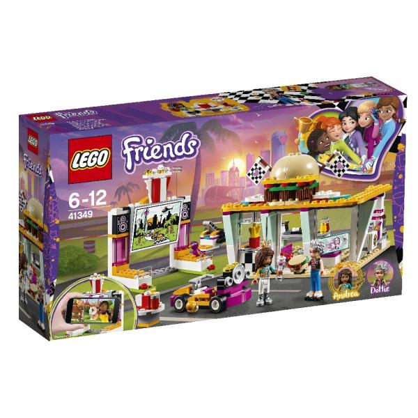 "Конструктор LEGO Friends ""Передвижной ресторан"", 345 деталей, арт. 41349"