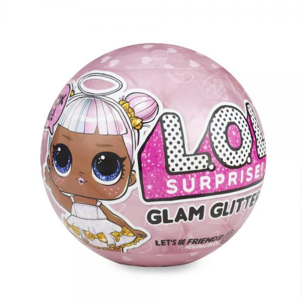 LOL Кукла-сюрприз в шаре LOL Surprise Glam Glitter Series (ЛОЛ)
