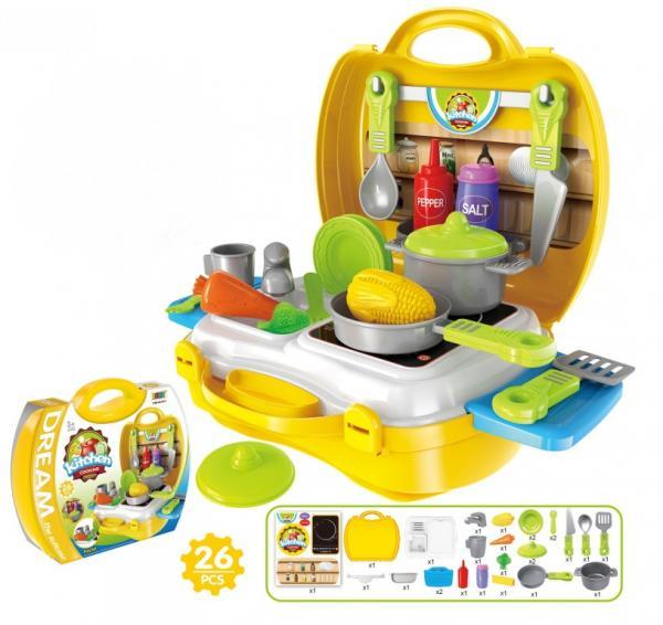 """Игровой набор """"Кухня Шефа"""" в чемоданчике, арт. 8311"""