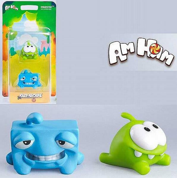 Набор 10 - Cut the Rope, 2 фигурки, арт. 201417