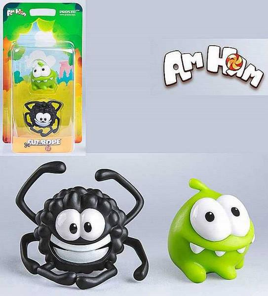 Набор 9 - Cut the Rope, 2 фигурки, арт. 201416