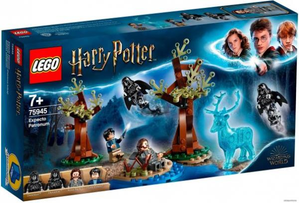 "Конструктор LEGO Harry Potter ""Экспекто Патронум"", 121 деталь, арт. 75945"
