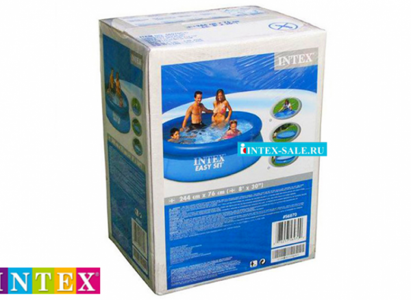 Надувной бассейн Intex Easy Set 244 х 76 см, арт. 28110NP